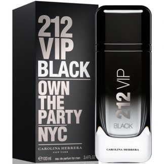 CAROLINA HERRERA 212 VIP BLACK EDP FOR MEN