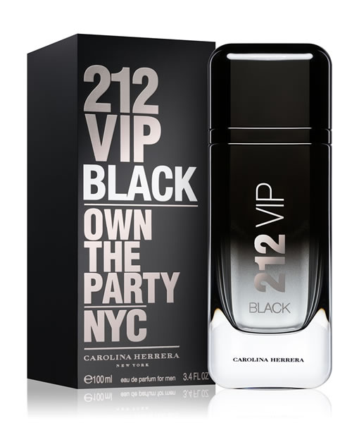 Men Black For Herrera 212 Carolina Edp Vip CBdoxWer