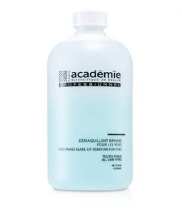 ACADEMIE TWO PHASE MAKEUP REMOVER FOR EYES (SALON SIZE) 500ML/16.9OZ