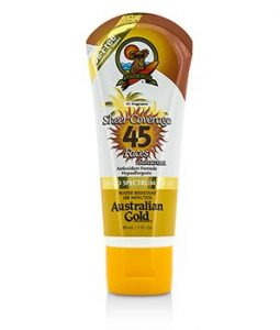 AUSTRALIAN GOLD SHEER COVERAGE FACES SUNSCREEN BROAD SPECTRUM SPF 45 88ML/3OZ