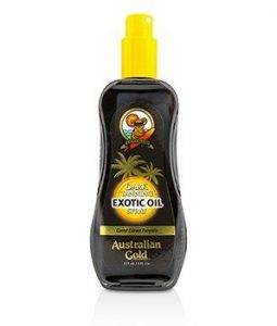 AUSTRALIAN GOLD DARK TANNING EXOTIC OIL SPRAY 237ML/8OZ