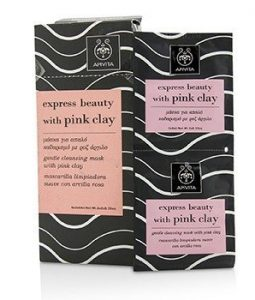 APIVITA EXPRESS BEAUTY GENTLE CLEANSING MASK WITH PINK CLAY (BOX SLIGHTLY DAMAGED) 6X(2X8ML)