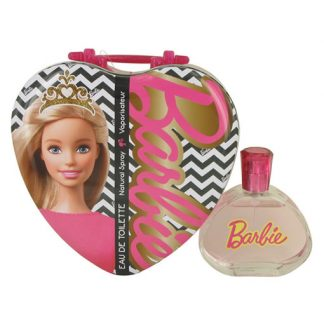 BARBIE METALLIC HEART EDT FOR WOMEN