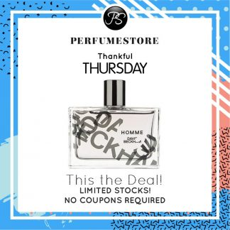 DAVID BECKHAM HOMME EDT FOR MEN 75ML [THANKFUL THURSDAY SPECIAL]