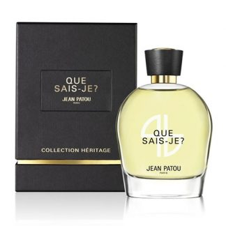 JEAN PATOU QUE SAIS-JE HERITAGE COLLECTION EDP FOR WOMEN
