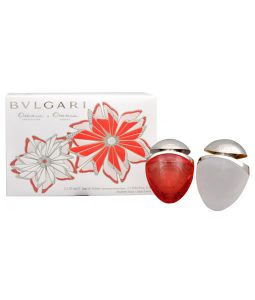 BVLGARI OMNIA CRYSTALLINE & OMNIA CORAL GIFT SET 2 FOR WOMEN