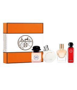HERMES DELUXE REPLICA COFFRET 4 PCS MINIATURE GIFT SET FOR WOMEN