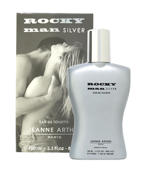 JEANNE ARTHES ROCKY MAN SILVER EDT FOR MEN
