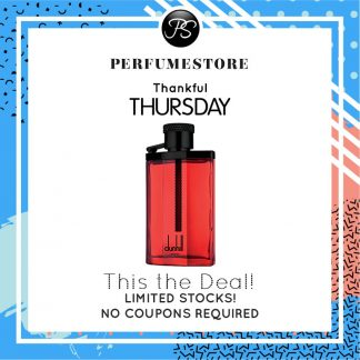 DUNHILL DESIRE RED EXTREME EDT FOR MEN 100ML [THANKFUL THURSDAY SPECIAL]