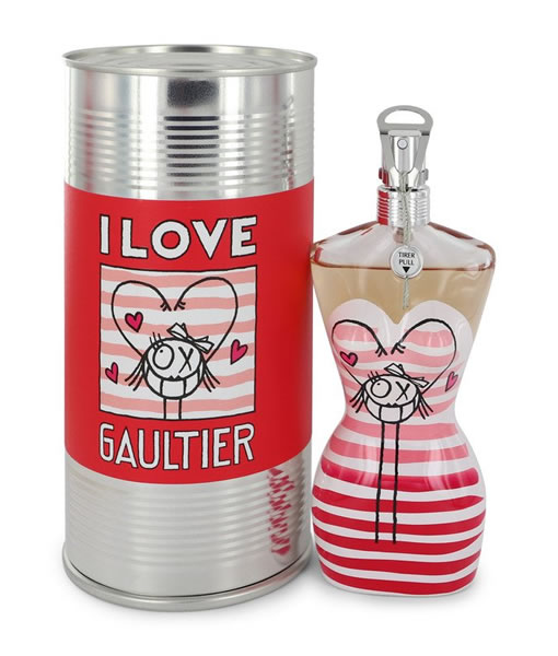 JEAN PAUL GAULTIER JPG CLASSIQUE EAU FRAICHE I LOVE GAULTIER EDT FOR WOMEN