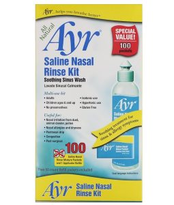 AYR, ALL NATURAL SALINE NASAL RINSE KIT, 1 KIT