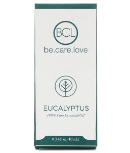 BCL, BE CARE LOVE, 100% PURE ESSENTIAL OIL, EUCALYPTUS, 0.34 FL OZ / 10ml