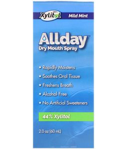 EPIC DENTAL, ALLDAY DRY MOUTH SPRAY, MILD MINT, 2.0 OZ / 60ml