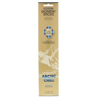 GONESH, EXTRA RICH INCENSE STICKS, ARCTIC CHILL, 20 STICKS