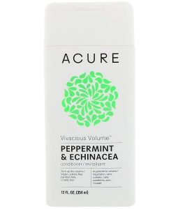 ACURE, VIVACIOUS VOLUME CONDITIONER, PEPPERMINT & ECHINACEA, 12 FL OZ / 354ml