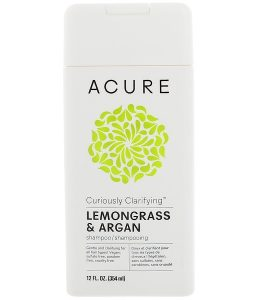 ACURE, CURIOUSLY CLARIFYING SHAMPOO, LEMONGRASS & ARGAN, 12 FL OZ / 354ml