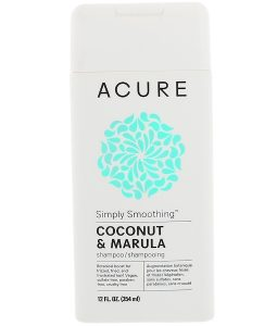 ACURE, SIMPLY SMOOTHING SHAMPOO, COCONUT & MARULA, 12 FL OZ / 354ml