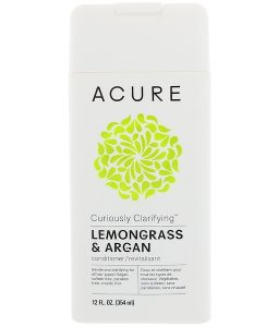 ACURE, CURIOUSLY CLARIFYING CONDITIONER, LEMONGRASS & ARGAN, 12 FL OZ / 354ml