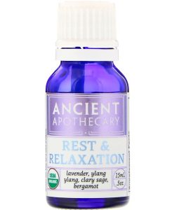 ANCIENT APOTHECARY, REST AND RELAXATION, .5 OZ / 15ml