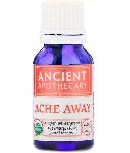 ANCIENT APOTHECARY, ACHE AWAY, .5 OZ / 15ml