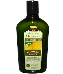 AVALON ORGANICS, CONDITIONER, CLARIFYING, LEMON, 11 FL OZ / 325ml