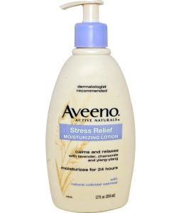 AVEENO, ACTIVE NATURALS, STRESS RELIEF MOISTURIZING LOTION, 12 FL OZ / 354ml