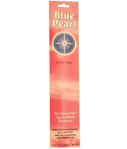 BLUE PEARL, THE CONTEMPORARY COLLECTION, WILD ROSE INCENSE, .35 OZ / 10g