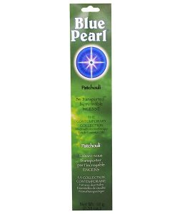 BLUE PEARL, THE CONTEMPORARY COLLECTION, PATCHOULI INCENSE, 0.35 OZ / 10g