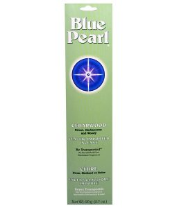 BLUE PEARL, CLASSIC IMPORTED INCENSE, CEDARWOOD, 0.7 OZ / 20g