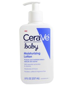 CERAVE, BABY, MOISTURIZING LOTION, 8 FL OZ / 237ML)