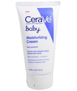 CERAVE, BABY, MOISTURIZING CREAM, 5 OZ / 142g