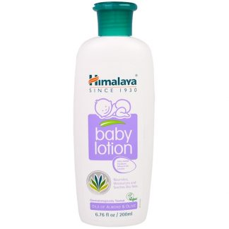 HIMALAYA, BABY LOTION, OILS OF ALMOND & OLIVE, 6.76 FL OZ / 200ml