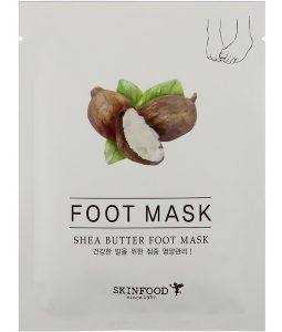 SKINFOOD, SHEA BUTTER FOOT MASK, 0.54 FL OZ / 16ml