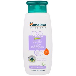 HIMALAYA, GENTLE BABY SHAMPOO, HIBISCUS AND CHICKPEA, 13.53 FL OZ / 400ml