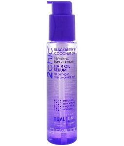 GIOVANNI, 2CHIC, REPAIRING SUPER POTION HAIR OIL SERUM, BLACKBERRY & COCONUT OIL, 2.75 FL OZ / 81ml