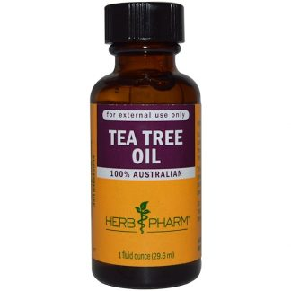 HERB PHARM, TEA TREE OIL, 1 FL OZ / 29.6ml