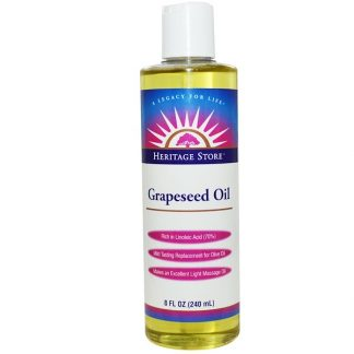 HERITAGE STORE, GRAPESEED OIL, 8 FL OZ / 240ml