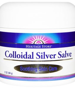 HERITAGE STORE, COLLOIDAL SILVER SALVE, 2 OZ / 60g