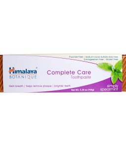 HIMALAYA, BOTANIQUE, COMPLETE CARE TOOTHPASTE, SIMPLY SPEARMINT, 5.29 OZ / 150g