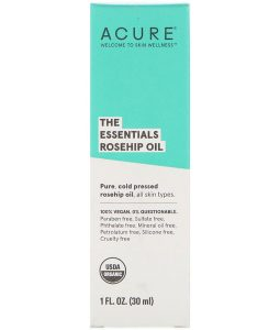 ACURE, THE ESSENTIALS, ROSEHIP OIL, 1 FL OZ / 30ml