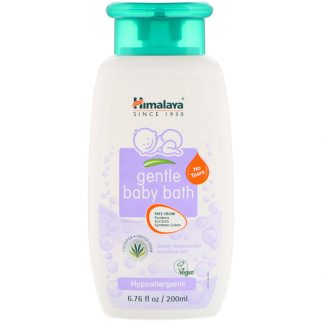 HIMALAYA, GENTLE BABY BATH, CHICKPEA AND GREEN GRAM, 6.76 FL OZ / 200ml