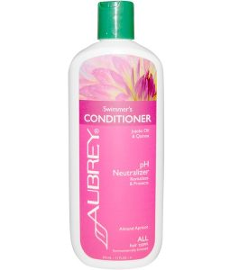 AUBREY ORGANICS, SWIMMER'S CONDITIONER, PH NEUTRALIZER, ALL HAIR TYPES, 11 FL OZ / 325ml