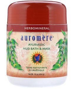 AUROMERE, AYURVEDIC MUD BATH & MASK, 16 OZ / 454g