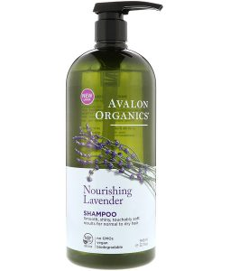 AVALON ORGANICS, SHAMPOO, NOURISHING LAVENDER, 32 FL OZ / 946ml