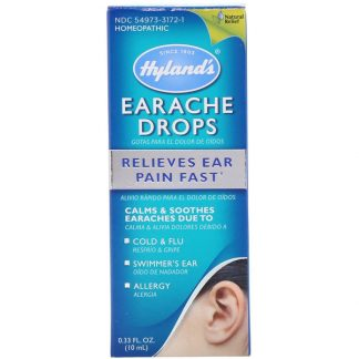 HYLAND'S, EARACHE DROPS, 0.33 FL OZ / 10ml