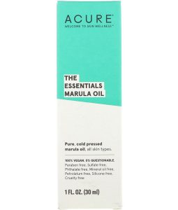 ACURE, THE ESSENTIALS MARULA OIL, 1 FL OZ / 30ml