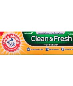 ARM & HAMMER, TRULY RADIANT, CLEAN & FRESH TOOTHPASTE, SPEARMINT, 4.3 OZ / 121g