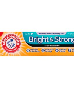 ARM & HAMMER, TRULY RADIANT, BRIGHT & STRONG TOOTHPASTE, CRISP MINT, 4.3 OZ / 121g