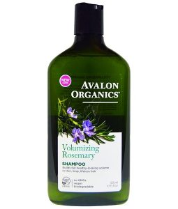 AVALON ORGANICS, SHAMPOO, VOLUMIZING, ROSEMARY, 11 FL OZ / 325ml