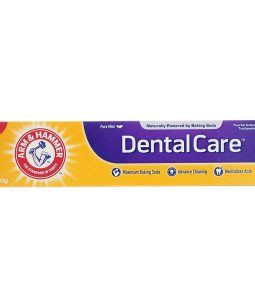 ARM & HAMMER, DENTAL CARE, FLUORIDE ANTICAVITY TOOTHPASTE, PURE MINT, 6.3 OZ / 178g